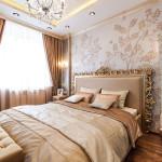 Спальня с серебринкой и золотинкой